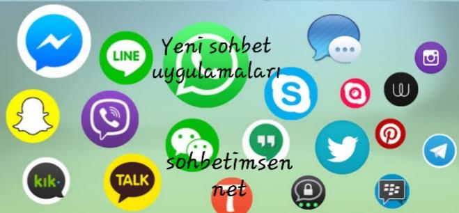 Yeni sohbet uygulamaları